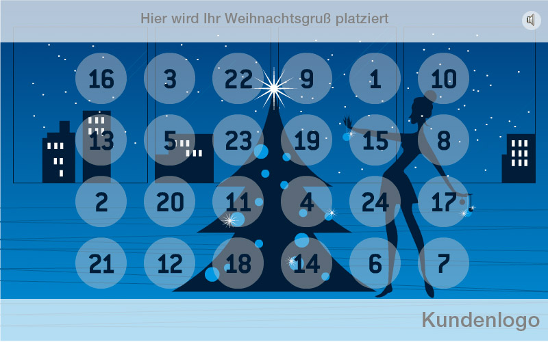heute schon an weihnachten denken digitaler adventskalender von neonwerk. Black Bedroom Furniture Sets. Home Design Ideas